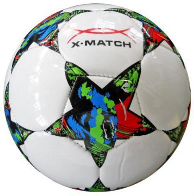 Мяч футбольный X-Match 56413 в ассортименте