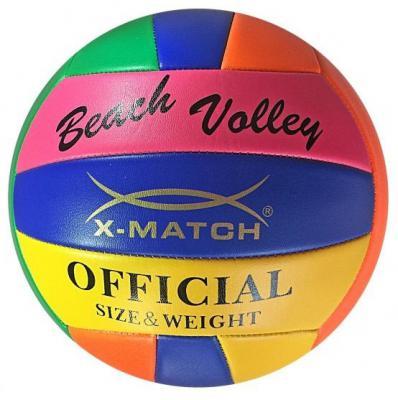 Мяч волейбольный X-Match 56375 21 см в ассортименте