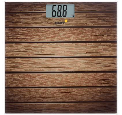 Весы напольные Unit UBS-2056 рисунок коричневый CE-0462770