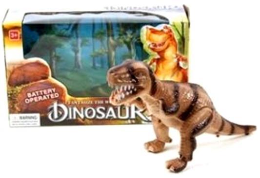 Интерактивная игрушка Shantou Gepai Динозавр от 3 лет коричневый интерактивная игрушка shantou gepai динозавр от 3 лет бежевый rs6125
