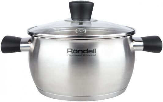 Кастрюля Rondell Dominant (ST) 831-RDS 18 см 2.4 л нержавеющая сталь кастрюля rondell dominant rds 831