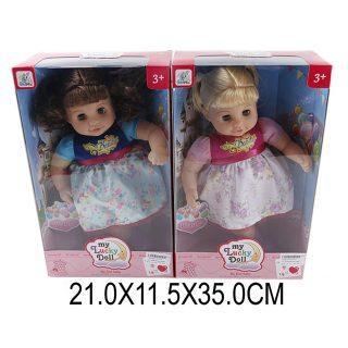 Купить Кукла Shantou Gepai м/н в ассортименте, коробка 87011, пластик, Мягконабивные куклы