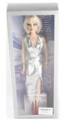 Кукла Shantou Gepai 29 см Звездная вечеринка, серебр.платье, кор. 622-1