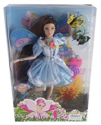 Кукла Shantou Gepai 29 см Фея в голуб.платье, шарнирная, кор.