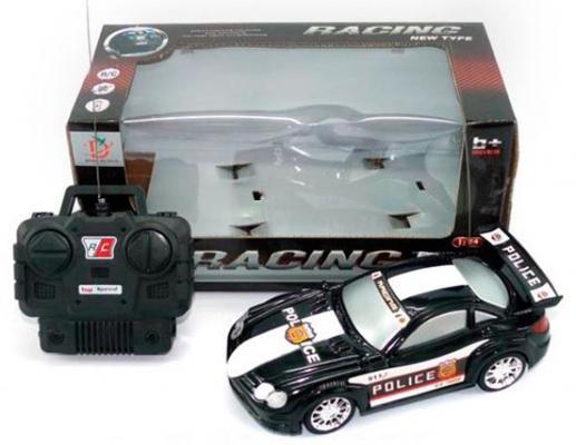 Машинка на радиоуправлении Shantou Gepai пластик черный