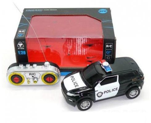 Машинка на радиоуправлении Shantou Gepai Полиция 6138K пластик от 3 лет черно-белый