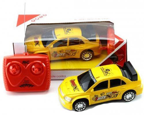 Машинка на радиоуправлении Shantou Gepai RacerX пластик от 5 лет желтый 4 канала