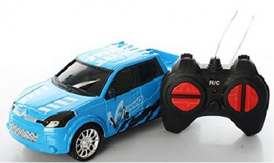 Машинка на радиоуправлении Shantou Gepai Speed King пластик от 3 лет голубой 4 канала, 632310