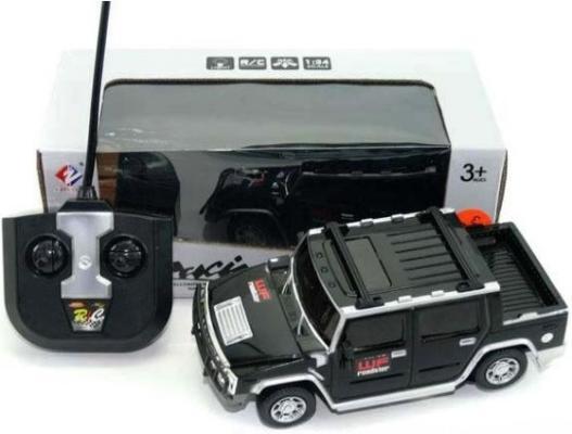 Машинка на радиоуправлении Shantou Gepai Extreme Racing пластик от 3 лет черный WF-1812