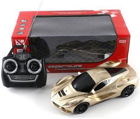 Машинка на радиоуправлении Shantou Gepai Racing Champion пластик от 6 лет золотистый 66-TF12