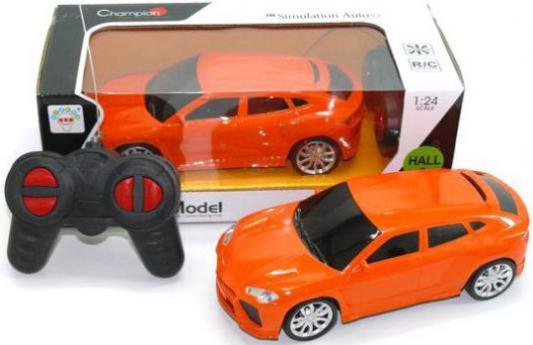 Машинка на радиоуправлении Shantou Gepai Champion пластик от 3 лет оранжевый 1310-3