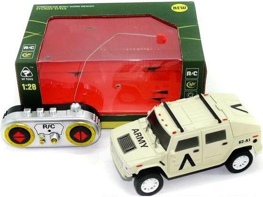 Машинка на радиоуправлении Shantou Gepai Army пластик от 3 лет бежевый 6138-1