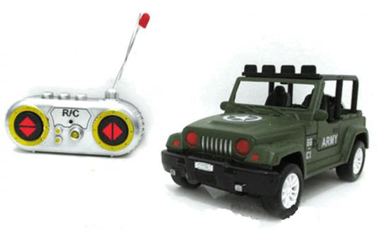Машинка на радиоуправлении Shantou Gepai Army пластик от 7 лет зелёный 1:28, 4 канала