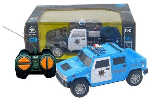 Машинка на радиоуправлении Shantou Gepai Полицейский внедорожник 635558 пластик от 3 лет ассортимент