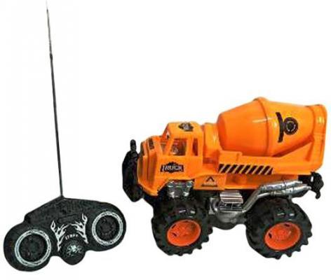 Бетономешалка на радиоуправлении Shantou Gepai Бетономешалка 635567 пластик от 3 лет оранжевый