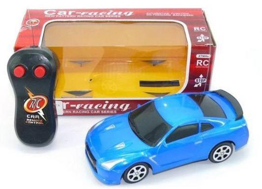 Машинка на радиоуправлении Shantou Gepai Car-racing пластик от 3 лет синий 2 канала