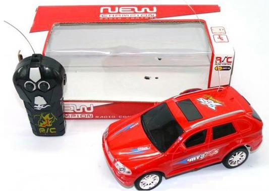 """Машинка на радиоуправлении Shantou Gepai """"Новый Чемпион"""" красный от 3 лет пластик 2 канала 6903-1"""