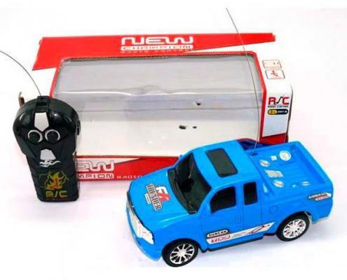 Машинка на радиоуправлении Shantou Gepai New Champion 626991 пластик от 3 лет голубой