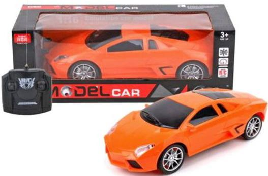 Машинка на радиоуправлении Shantou Gepai Model пластик от 3 лет оранжевый 635566 машинка на радиоуправлении shantou gepai super car 4 канала оранжевый от 6 лет пластик 567 a5