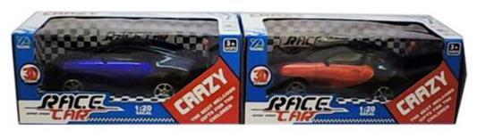Машинка на радиоуправлении Shantou Gepai Race Car с 3D-подсветкой пластик от 3 лет ассортимент 2 канала. 1:20