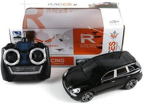 Машинка на радиоуправлении Shantou Gepai Races пластик от 3 лет черный