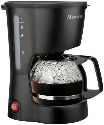 Кофеварка Maxwell MW-1657(BK) черный