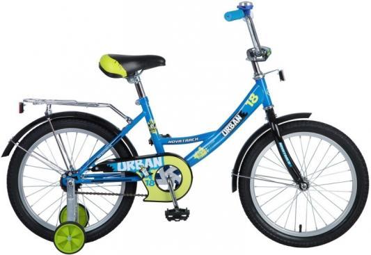 Велосипед Novatrack Urban 18 синий детский велосипед novatrack urban 18 red