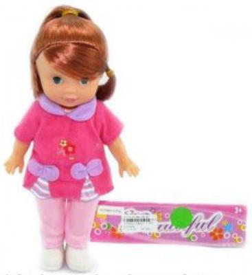 Кукла Shantou Gepai 25 см  P8821-C-PVC  кукла shantou gepai amore baby 23 см p8872 16 pvc