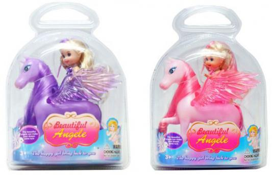 Кукла Shantou Gepai Beautiful Angel на крылатом коне 9 см в ассортименте, блистер