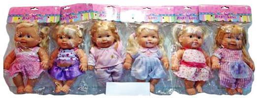 Кукла Shantou Gepai 25 см Девочка , в ассортименте 61592