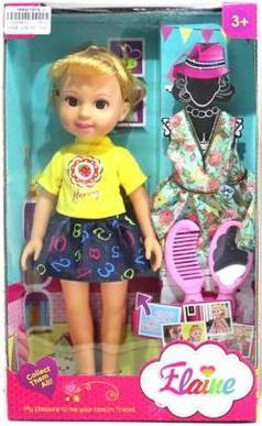 Кукла Shantou Gepai Маленькая модница 32 см, с аксессуарами, коробка, в ассортименте