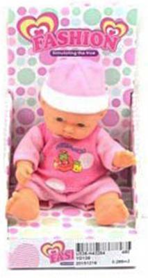 "Пупс Shantou Gepai Fashion ""Аннет"" розовый 10 см  YD139"
