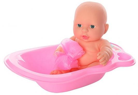 """Пупс Shantou Gepai """"Пупс в ванночке"""" с аксессуарами 20 см 1601-06 bambolina игровой набор с куклой пупс в ванночке"""