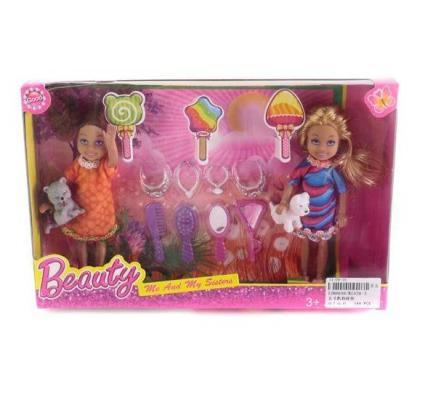 Игровой набор Shantou Gepai набор кукол 12 см с аксессуарами KL026-3 игровой набор shantou gepai набор кукол 12 см с аксессуарами kl026 3