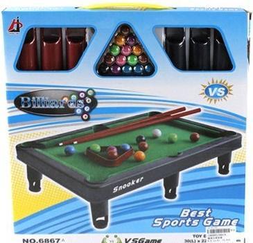 Настольная игра Shantou Gepai спортивная Бильярд 6867A