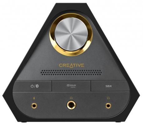 Звуковая карта USB Creative Sound BlasterX X7 70SB158000000 звуковая карта creative usb sound blasterx g6 sb axx1 7 1 ret