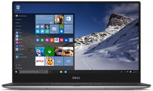 Ультрабук DELL XPS 13 13.3 3200x1800 Intel Core i7-7500U 9360-3621 адаптер dell intel ethernet i350 1gb 4p 540 bbhf