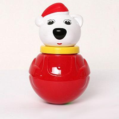Купить Неваляшка Stellar Белый медведь-2 , белый, красный, Неваляшки, юла