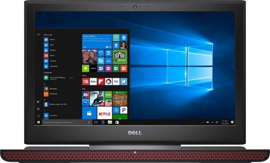 Ноутбук DELL Inspiron 7567 15.6 1920x1080 Intel Core i7-7700HQ 7567-9316 адаптер dell intel ethernet i350 1gb 4p 540 bbhf