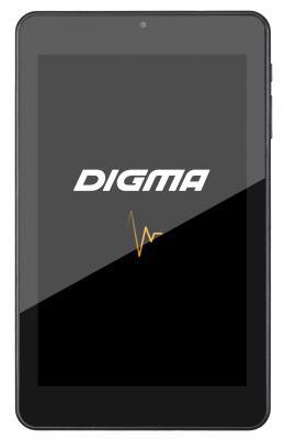 """Планшет Digma Optima 7307D A33 (1.3) 4C/RAM512Mb/ROM8Gb 7"""" IPS 1280x800/Android 4.4/черный/0.3Mpix/WiFi/Touch/microSDHC 32Gb/minUSB/2500mAh"""