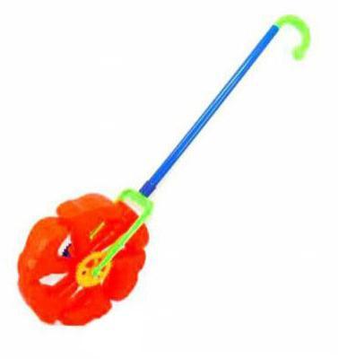 Каталка на палочке Shantou Gepai Топ-Топ пластик от 1 года с ручкой разноцветный L1801-5 каталка на палочке shantou gepai карусель бабочки пластик от 3 лет с ручкой разноцветный