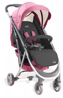 Коляска прогулочная Asalvo YIYI (pink/13125) прогулочная коляска carmella princess pink page 5
