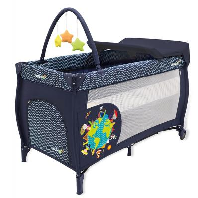 Манеж Asalvo Travel Cot Mix Plus (animals of the world/12623)