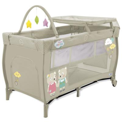 Манеж Asalvo Travel Cot Mix Plus (bears/12616)