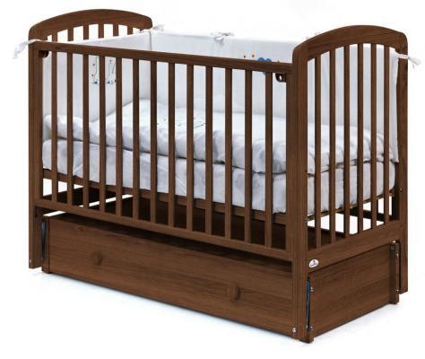 Кровать с маятником Fiorellino Tina (oreh)