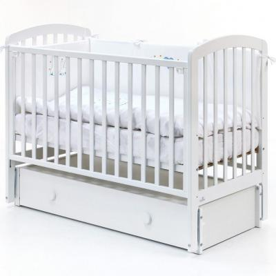 Кровать с маятником Fiorellino Tina (white)