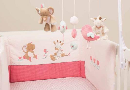 Бортик для кровати универсальный Nattou Charlotte & Rose (655408) бортики в кроватку nattou charlotte
