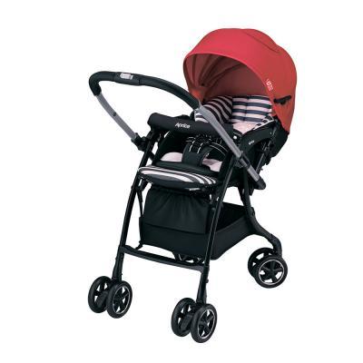 Прогулочная коляска Aprica Luxuna Dual (красный) коляска трость aprica stick plus бежевый
