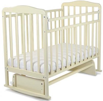 Кроватка-качалка СКВ Митенька (бежевый/160119)