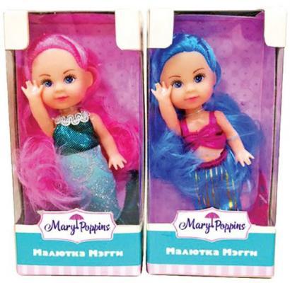 Кукла Mary Poppins Малютка Мэгги - Русалка 9 см в ассортименте 451172 игрушка mary poppins вика покорми меня 451101